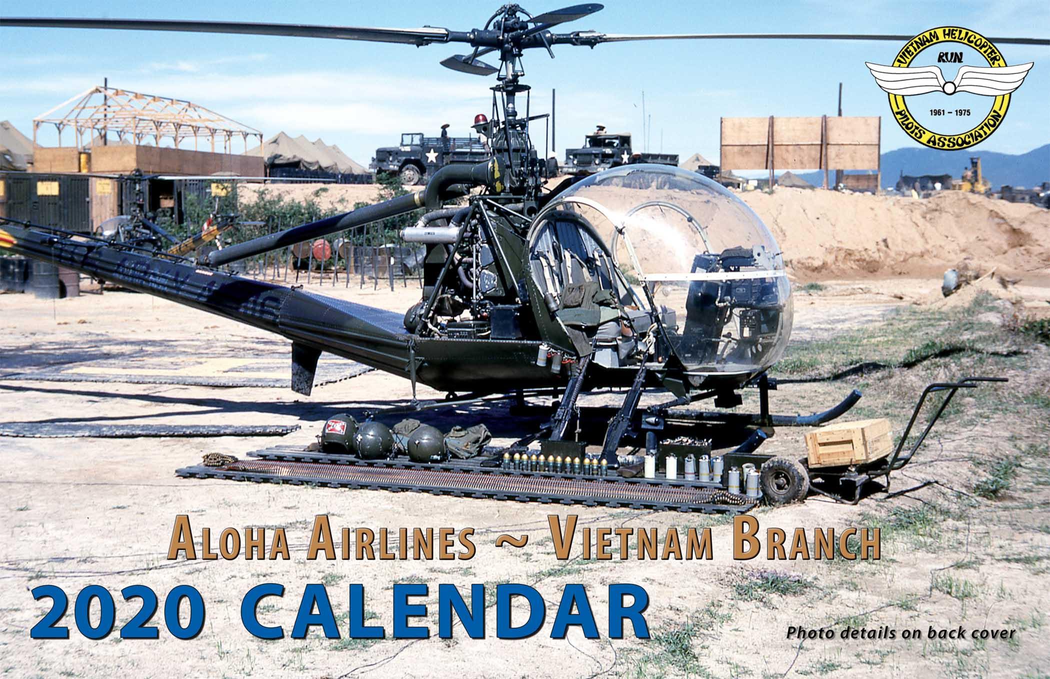 2020 Vietnam Helicopter Pilots Association Calendar